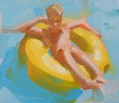 DPW Fine Art Friendly Auctions - Inner Tube by David Shevlino