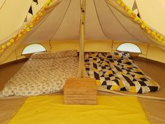 Bell Tent Bedroom Inner (my modified version!)