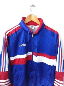 VINTAGE-1990S-ADIDAS-FOOTBALL-FRANCE-JAPAN-BIG-LOGO-SWEATER-JACKET-HOODED-80S