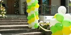 How To Make a Balloon Column for a Party Step-by-Step instructions! This will be very helpful for Landon's Bday :)