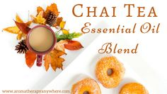 This chai tea essential oil blend is inspired by the popular Indian chai that is prepared by brewing tea leaves with cinnamon, clove, ginger, and cardamon. Essential Oils For Nausea, Ginger Essential Oil, Essential Oil Uses, Young Living Essential Oils, Clove Oil, Essential Oil Diffuser Blends, Pure Oils, Brewing Tea, Chai