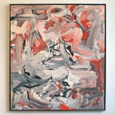"worldartcollection:  ""Willem de Kooning – Untitled XVI  """