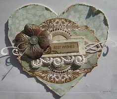 heartshaped card