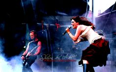 Wallpaper of within temptation for fans of Symphonic Metal.