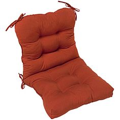 Red Outdoor Seat/Back Chair Cushion | Overstock.com Shopping - Big Discounts on Outdoor Cushions & Pillows