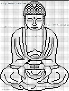 grille bouddha