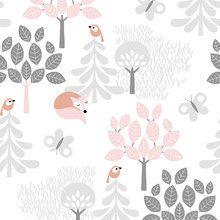 Tapetti - Tree Top Pink