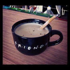 friends coffee mug <3