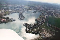 Airplane View, River, Outdoor, Outdoors, Outdoor Games, Outdoor Life, Rivers