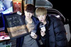 Lee Jae Joon and Takuya Terada The Lover BTS