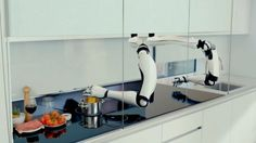 Futuristic Kitchen, Future Robots, Moley Robotics, Could This Robot Chef Change The Future Of Cooking