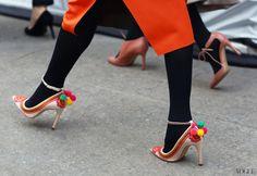 Caroline Issa x LK Bennett shoes