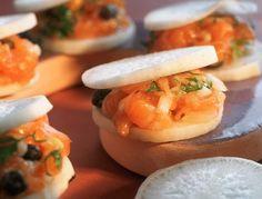 Voir la recette des Galettes bretonnes au saumon fumé