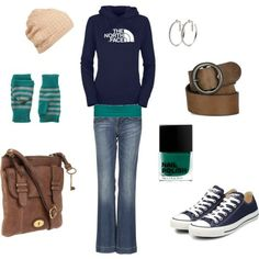 Casual Fall Fasion by hope - perfect!