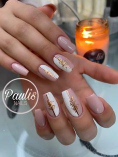 Gel Nails, Acrylic Nails, Chic Nails, Mani Pedi, Nail Arts, Nail Inspo, Claws, Hair And Nails, Finger