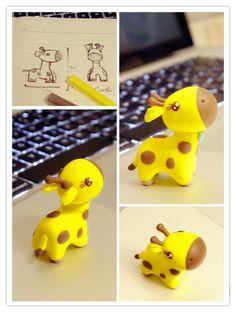 长颈鹿 本...来自Qgreendrip的图片分享-堆糖网
