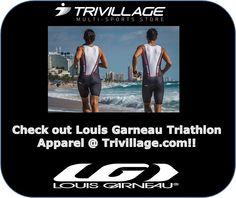 Louis Garneau Triathlon Apparel @ Trivillage.com