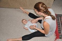 Yoga for Kids and Babies: Why and How to Start (with Photo Tutorials)-This post explores the benefits of yoga for babies and kids and walks you through many poses and stretches, along with photo tutorials!