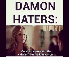 damon, fun, and haters image