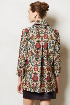 tulip tapestry jacket - anthropologie.com. when I hit the lottery, I will DEFINITELY shop at Anthropologie!!! Love that store!