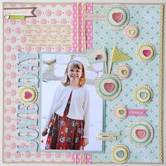Love Day by Jana Eubank using Noel Mignon Charm School Kit