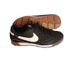 #NIKE_10R_PELADA_INDOOR_SOCCER_SHOES_BLACK -- Inspired by #Ronaldinho's latest line of footwear.... See more and shop online!! #soccer #footwear #soccershoes