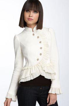 Fitted jacket Downton Abbey inspired