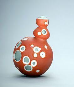 Portfolio of Catherine Keenan Glass blown work Christmas Bulbs, Eye Candy, Candle Holders, Northern Irish, Design Inspiration, Birds, Candles, Ceramics, Sculpture