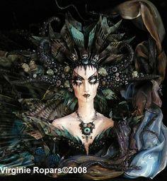 Ledroit, reine des fées noires par Virginie Ropars