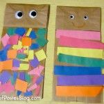 Sunday School Crafts: Joseph & the Coat of Many Colors - I love this idea for preschool children. Pocketful of Posies Blog has some other great Sunday school craft ideas for preschool children/