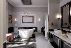 Heavenly bathroom and soaking tub! #bathroom #bathtub