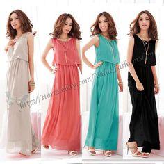 Summer  Beach Maxi Long Dresses