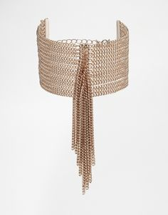 Fleur East By Lipsy Tassel Curb Chain Bracelet created by #ShoppingIS