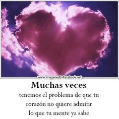 Muchas veces tenemos el problema de que tu corazón #desamor #corazon_roto #mal_de_amores #no_me_quiere