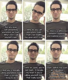 This is one of the many reasons why we love Brendon and you know it