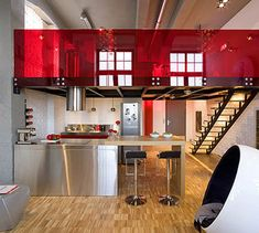 red interiors - Google Search