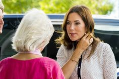 Princess Mary attended the Foundation conference on psychiatry inclusion of vulnerable young mentally at the Crowne Plaza in Copenhagen.