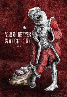 Zombie Santa - Merry Christmas ;)