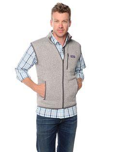 Men's Vests and Outerwear: Harbor Fleece Vest for Men – Vineyard ...