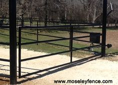 Pipe Rail Ranch Gate, moseleyfence.com