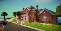 The Amarillo Mansion Minecraft World Save
