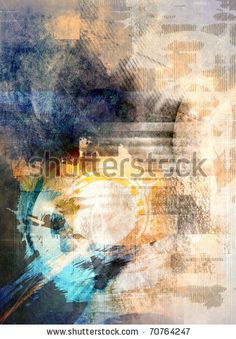 stock photo : Abstract grunge colorful background