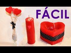 Velas decorativas, 3 Ideas fáciles y rápidas para hacer velas de cera | Velas…