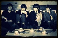 Beatles chilling