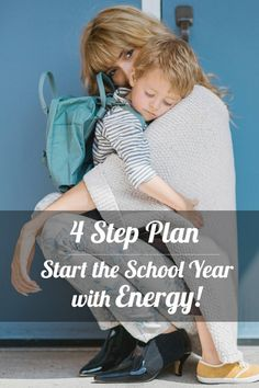 4 Step Plan for Moms to Get their Energy Back - Love the homemade salad dressing recipe in step #2!