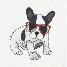 Bulldog Francês ilustra