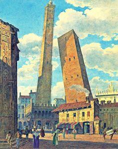 As Magníficas Torres de Bolonha | Pena Pensante - Literatura | História | Cultura