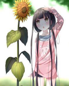 Anime chibi lil girl - so cute - kawaii, anime art Manga Anime, Manga Girl, Anime Art, Loli Kawaii, Kawaii Anime Girl, I Love Anime, Awesome Anime, Art Et Design, Tamako Love Story
