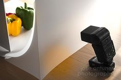 The practice of tabletop photography can start with a sheet of paper, some cardboard and window light. But soon you'll want more control in your own little studio. To help, we've looked at some alternatives for you.   Tags: Lighting, Speedlights, White backdrop