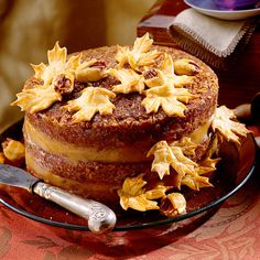 southernliving .Pecan Pie Cake A decadent Pecan Pie Filling is used instead of frosting between the layers of this moist cake.